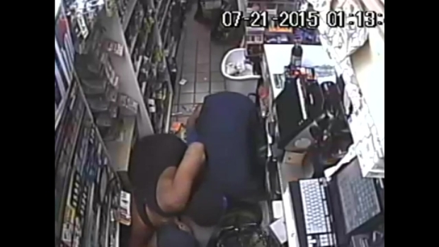 Video Shows Clerk Wrestling Away Gun and Shooting Robber