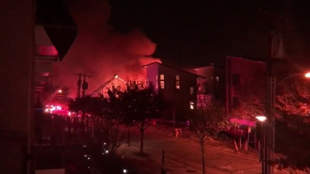 [DFW] Crews Working Large Fire in Dallas