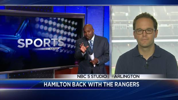 [DFW] Newy Scruggs, Pat Doney Discuss Josh Hamilton Back with Rangers