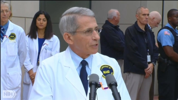 NIH's Dr. Fauci Announces Nina Pham is Ebola-Free