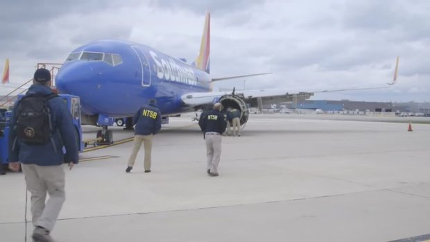 Southwest Engine Showed 'Fatigue,' Pieces Found: NTSB