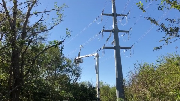 Oncor Crews Work to Repair Power Lines After Severe Weather