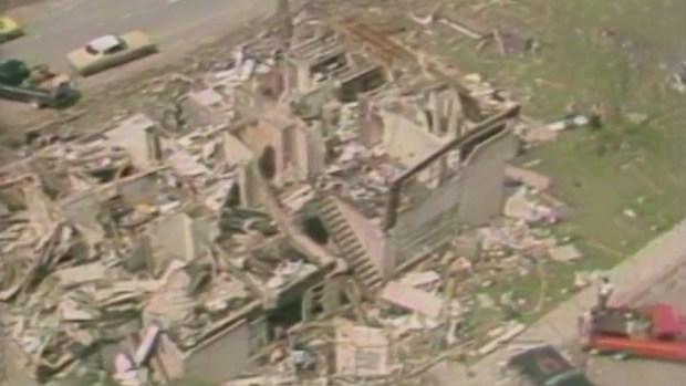 NBC 5 Video Vault: Paris Texas 1982 Tornado