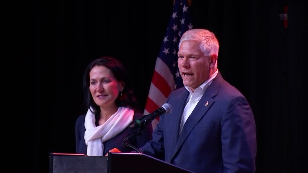 Pete Sessions Addresses Supporters After Loss to Allred