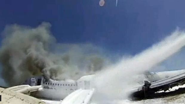 [AP] New GoPro Video Shows Aftermath of Asiana Crash