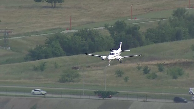 Small Plane Makes Emergency Landing at Alliance Airport