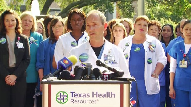 [DFW] Dallas Nurses Speak Out on Ebola Cases