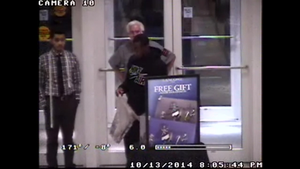 RAW: Surveillance Video Captures Joseph Randle Apparently Shoplifting