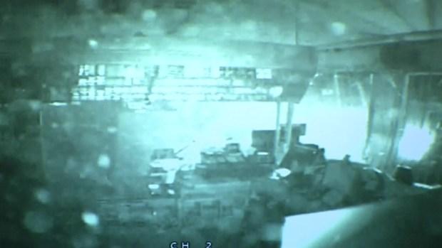 [DFW] Surveillance Video Captures Crash, Attempted Theft