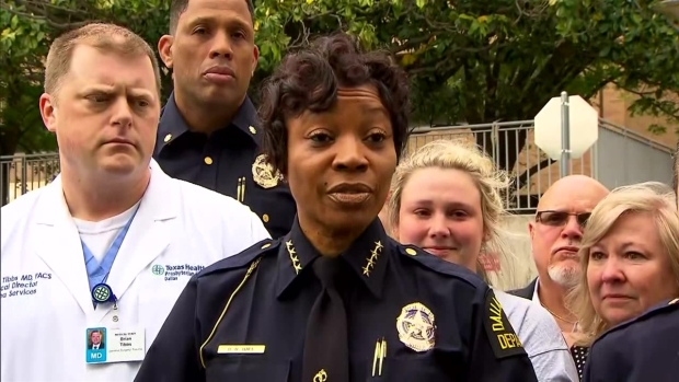 Chief Renee Hall Says Officer Killed