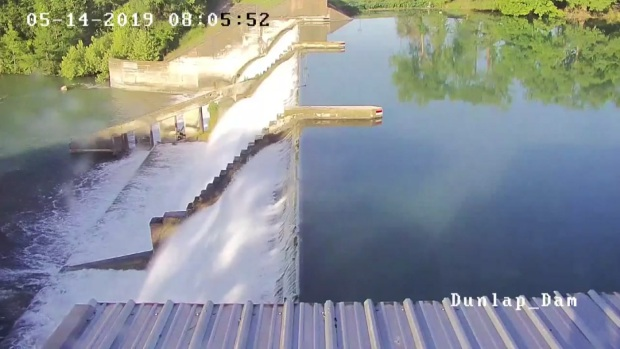[DFW] Watch: Central Texas Dam Spillway Collapses