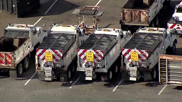 [DFW] North Texas Roads Pretreated Ahead of Possible Winter Weather