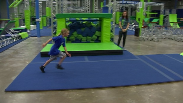[DFW] NTX Gym Trains Young American Ninja Warriors
