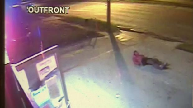 Alleged Serial Robber Caught on Camera