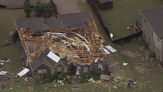 Texas Sky Ranger: Damage in Rockwall