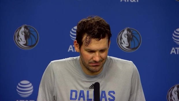 Romo Addresses Media Ahead of Mavs Debut