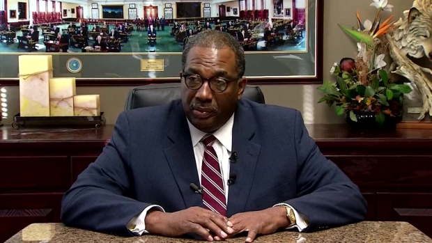 Raw Video: Sen. Royce West Speaks on A&M Incident