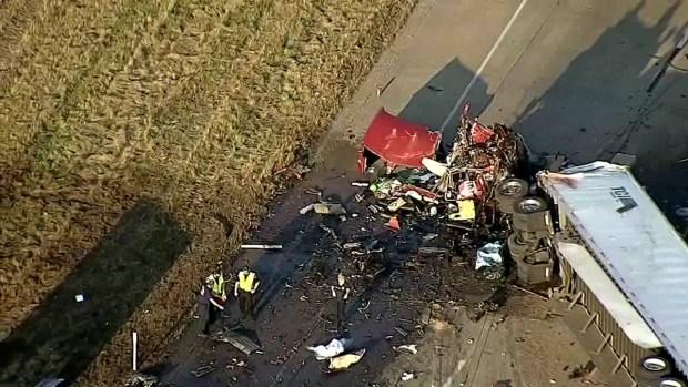 [DFW] I-30 Shut Down in Royse City After Fatal 18-Wheeler Crash