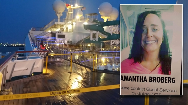 Search Halted for Arlington Woman Who Fell from Cruise Ship