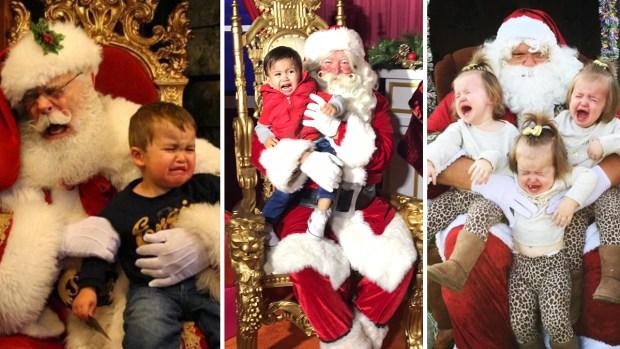 #SantaFail: Holiday Photos Gone Terribly Wrong