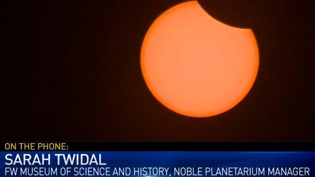 Fort Worth Musem Manager Talks Solar Eclipse