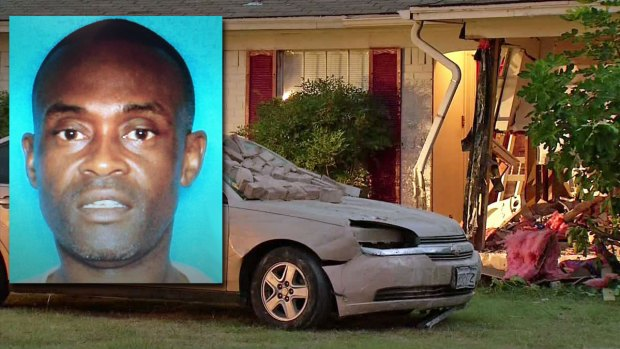 [DFW] Police Say Husband Intentionally Crashed Car Into House