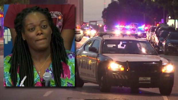 [DFW] Mother Shot While Protecting Son Thanks Officers