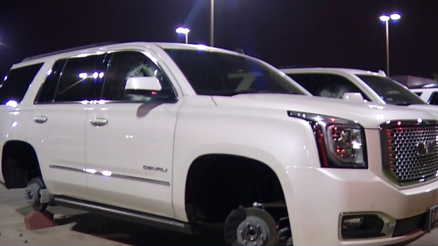 Classic Gmc Carrollton >> Police: Thieves Steal Wheels Worth $48K - NBC 5 Dallas ...