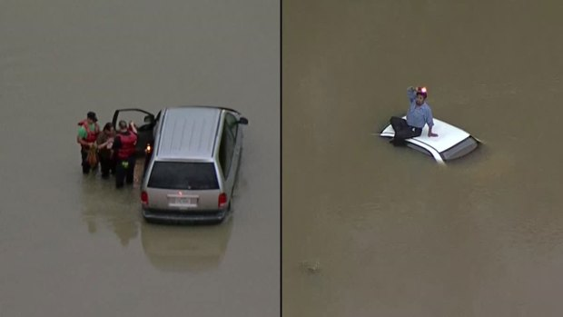 High Water Leads to Dangerous Moments for Dallas Drivers