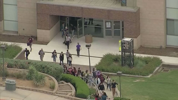 North Lake College Students Run to Safety as Poilce Search for Active Shooter