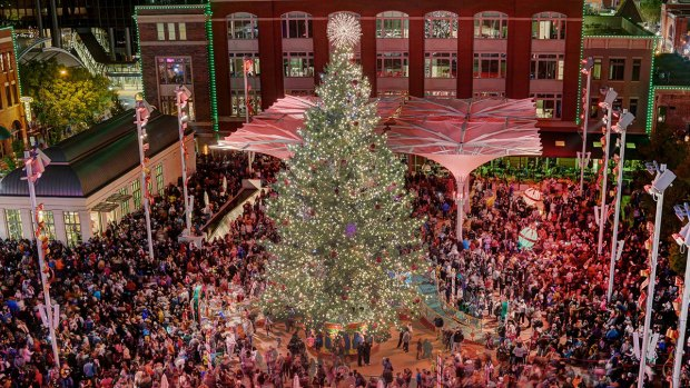 [DFW] Fort Worth's Christmas Tree Lights Up Sundance Square Nov. 23