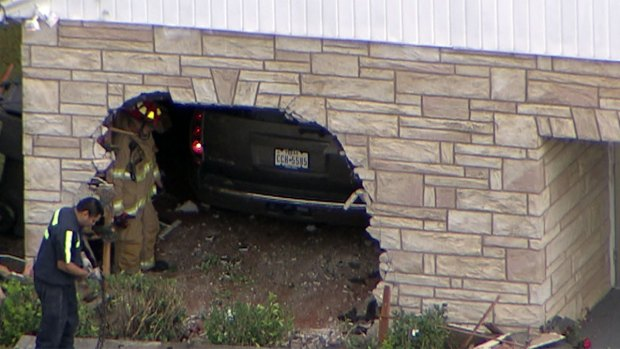 SUV Crashes Into Fort Worth Church