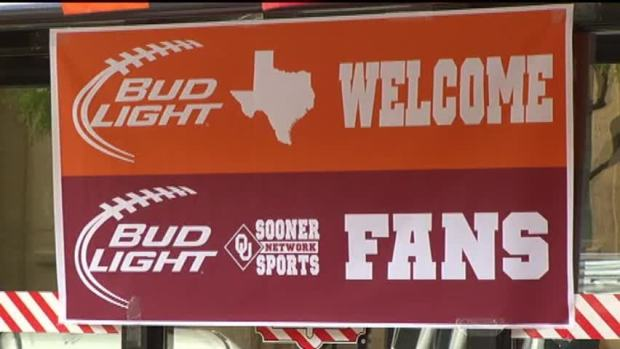 [DFW] Fans Get Pumped Up for TX-OU Weekend