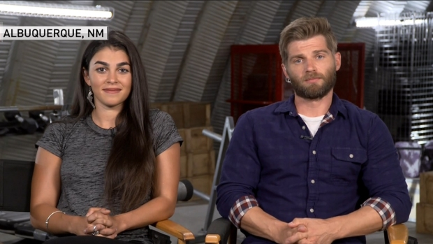 [DFW] 'The Brave' Actors Talk Show's Premier