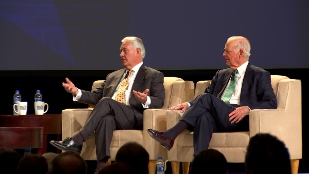 Rex Tillerson, James Baker Speak at Dallas Citizen Council Annual Meeting