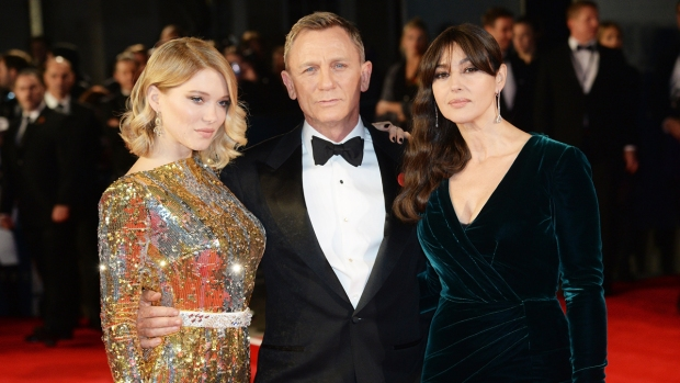 [NATL] 'Bond' Film Premieres Through the Years