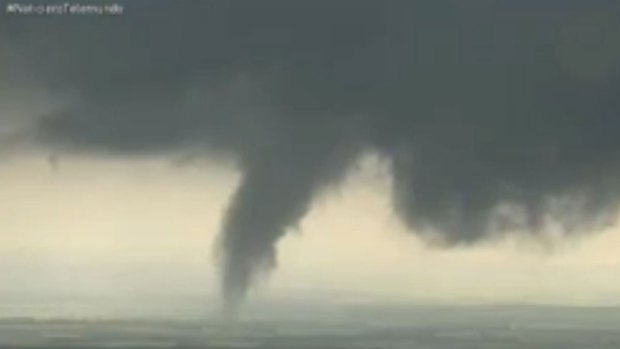 Storm Chaser Caught in Tornado
