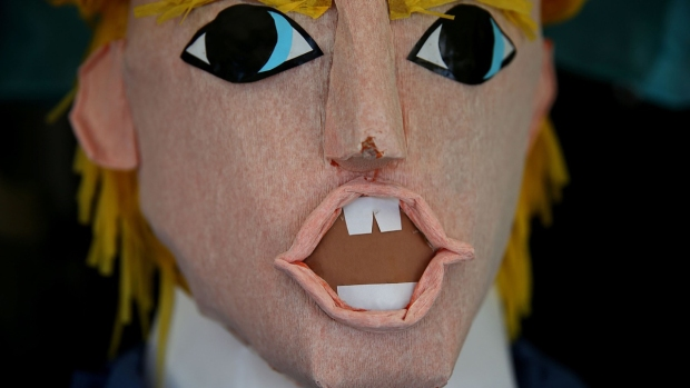 Trump Piñatas on Sale in San Francisco