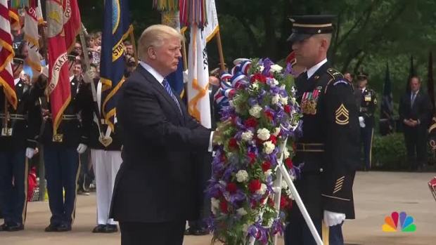 [NATL] President Trump Honors Military Heroes at Arlington Cemetery