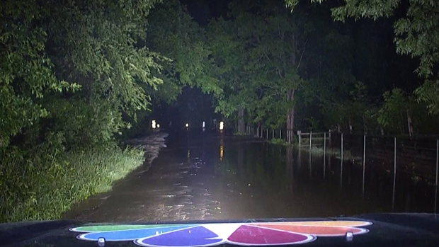 Water Levels Rise on Denton County Roads