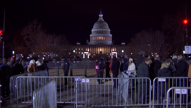 People Wait Overnight for Chance to Pay Respects to Bush