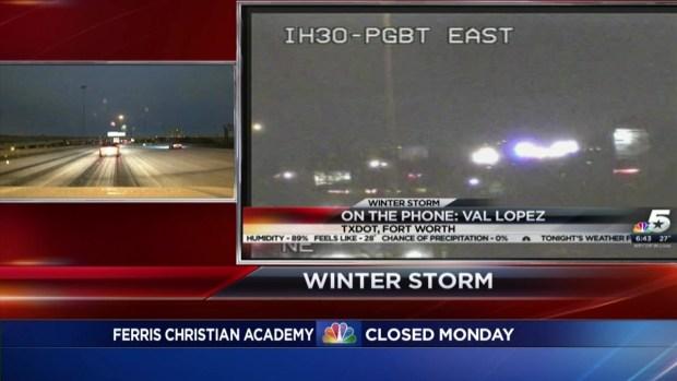 TxDOT Spokesman Discusses Road Conditions