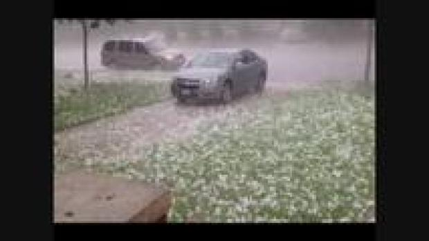 [DFW] Viewer Hail Video - June 13, 2012