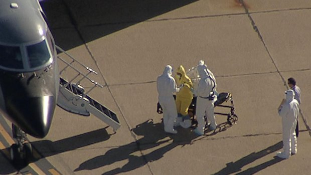 [DFW] Dallas Nurse with Ebola Transported to Atlanta