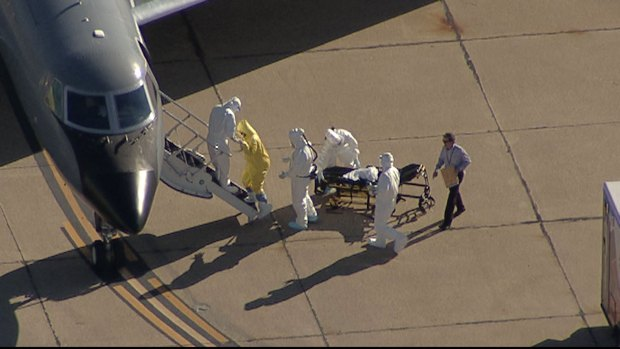 Ebola Patient Heads to Atlanta for Treatment