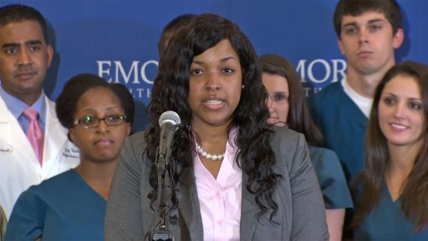 Ebola Survivor Amber Vinson Released From Hospital
