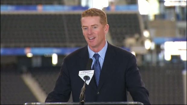 Jason Garrett Officially Named Head Coach