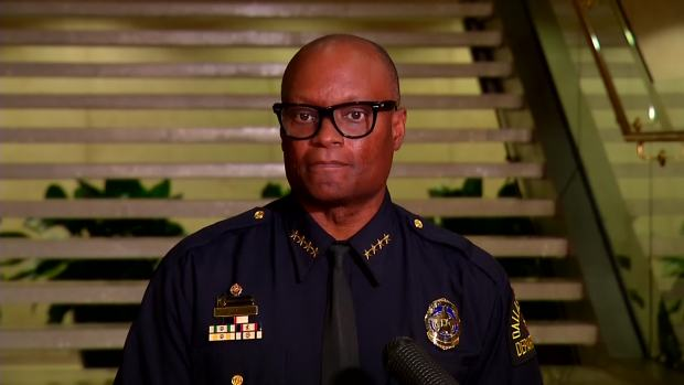 Chief Brown on Shootout at DPD Headquarters