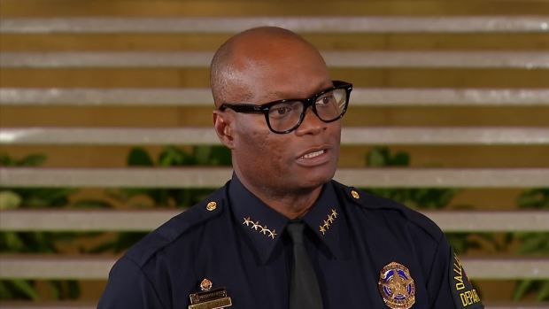 DPD Chief Brown Updates Officer-Involved Shooting at Love Field (Raw Video)
