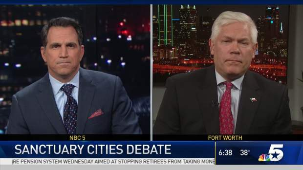 [DFW] Pete Sessions: 'Welcoming Community' Fundamentally Wrong